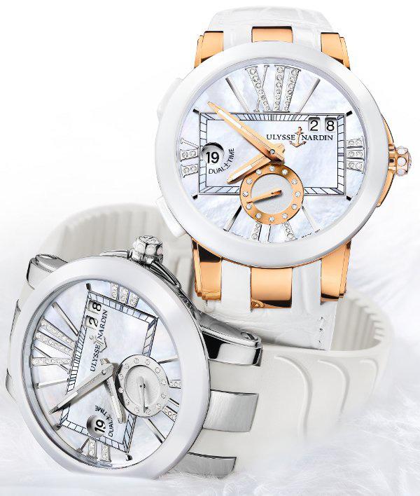 Ulysse Nardin Executive Lady Dual Time Watch