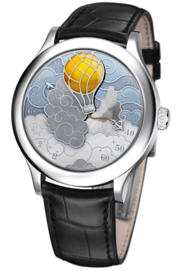 Van Cleef & Arpel – Poetic Complication Five Weeks In a Balloon Watch