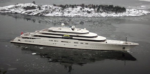 Eclipse - The World's Largest Yacht