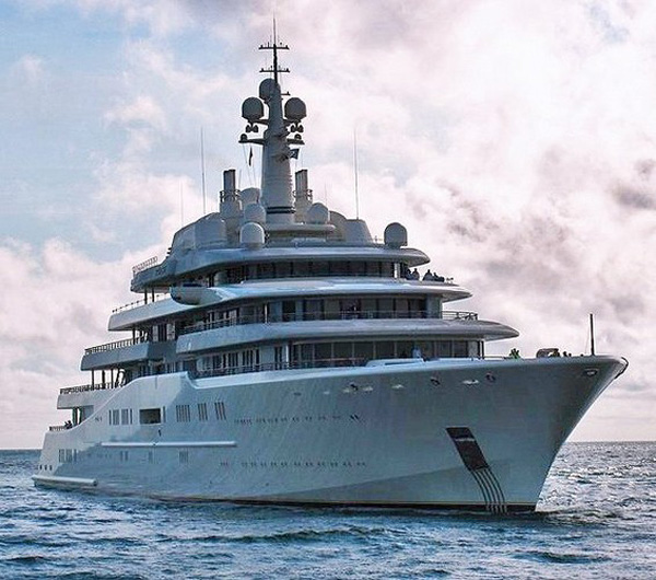 Eclipse - The Worlds Largest Yacht