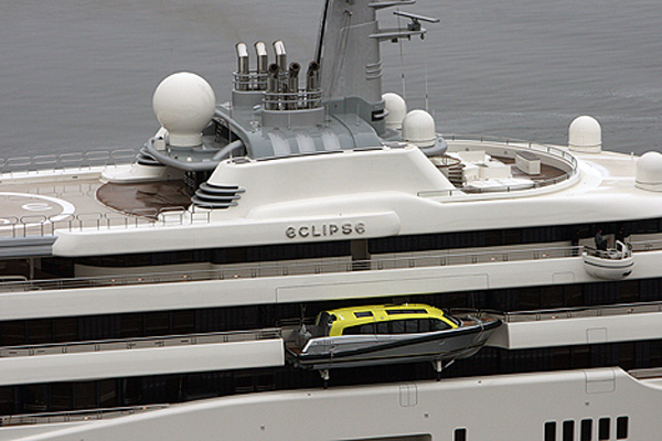 Roman Abramovich's Eclipse Yacht