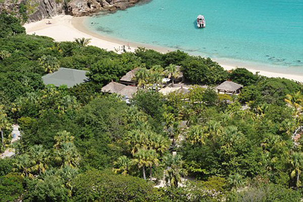 Roman Abramovich's The 70-acre estate on Gouverneurs Beach, St Barts
