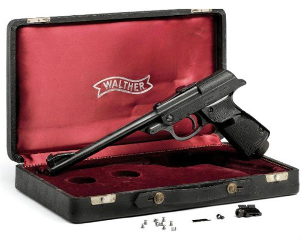 "James Bond's ""From Russia with Love"" Walther Pistol"