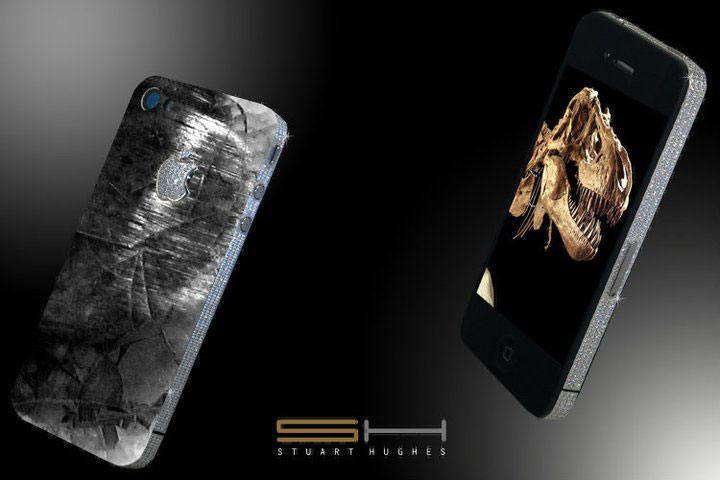 iPhone 4 History Edition &#8211; The Worlds First Dinosaur and Meteoric Stone Mobile Phone