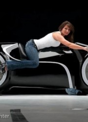 Street-Legal Tron Light Cycle for $55,000
