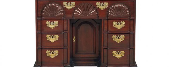 18th Century Mahogany Bureau Table Achieves a Stunning $5.7 Million at Christie's