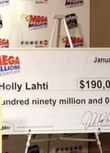 Idaho Woman Claims $190M Mega Millions Prize