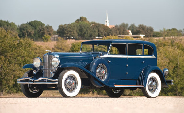 1929 Duesenberg Model J Clear Vision Sedan