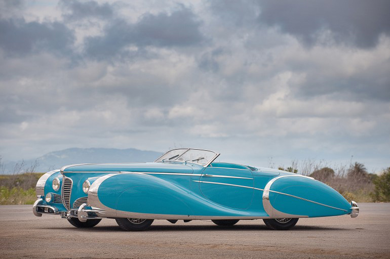 Car Auctions In Va >> The 1949 Delahaye 175 Roadster Replica for Sale - eXtravaganzi