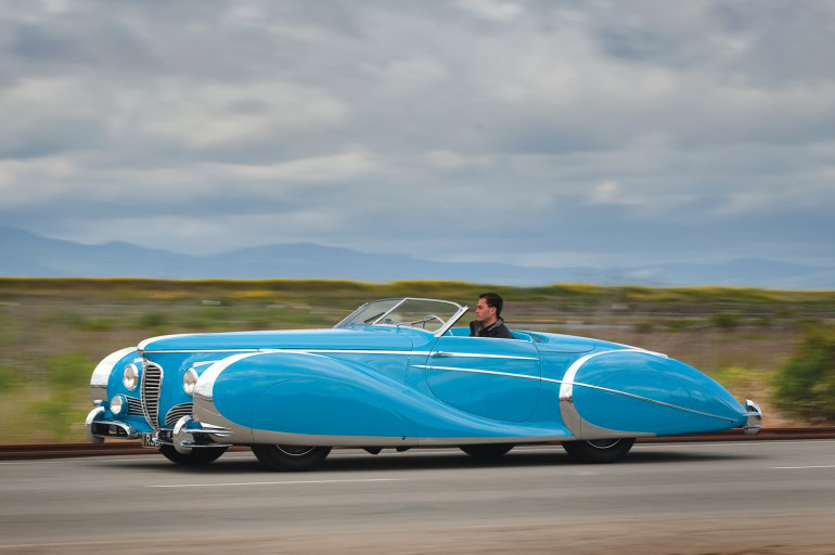 1949 Delahaye Type 175 S Roadster by Saoutchik