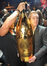 World's Largest Bottle of Champagne – 30L Armand de Briganc Midas – Sold on New Year's Eve
