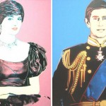 Andy Warhol's Wedding Portraits of Princess Diana and Prince Charles up for Sale