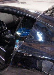 West Coast Customs Unveil TRON-themed Audi R8 Race Car at CES 2011