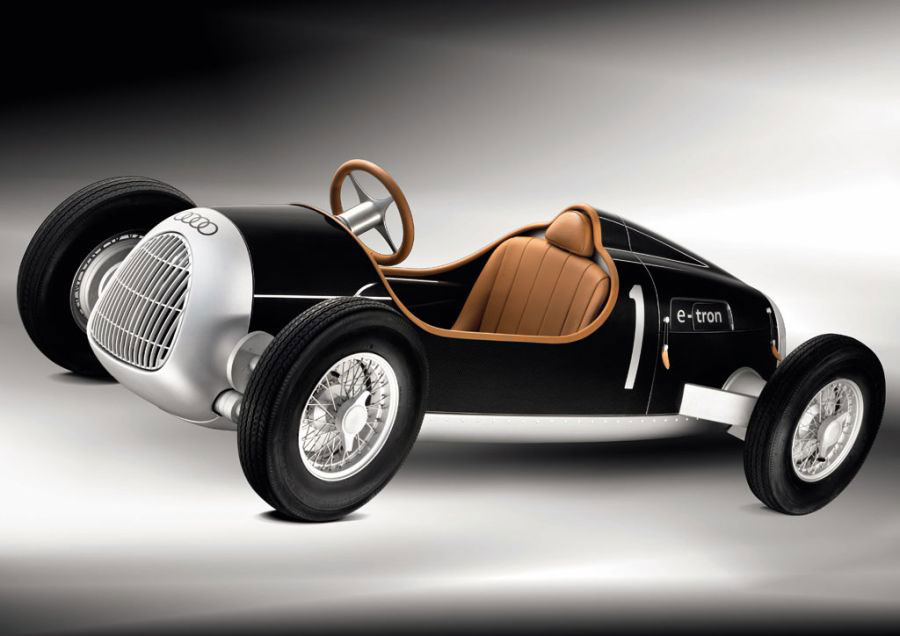 Audi for the Rich Kids &#8211; Auto Union Type C e-tron Study