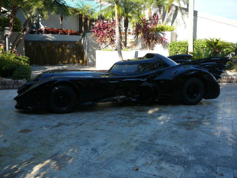 Legally Authorized The Batman Returns Batmobile Sold for $370,100