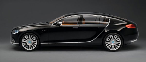 Bugatti Four-door Sedans Will be Based on Audi A8 Platform