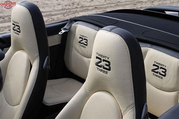 David Beckham Porsche 911 Turbo Cabriolet. Matte Black Porsche 911