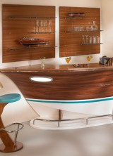Dolce Vita – Deck Line's Boat-shaped Bar is an Eye-catching Addition to Any Home