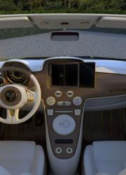 Fiat 500c La Dolce Vita Gold and Diamonds 200hp by Fenice Milano