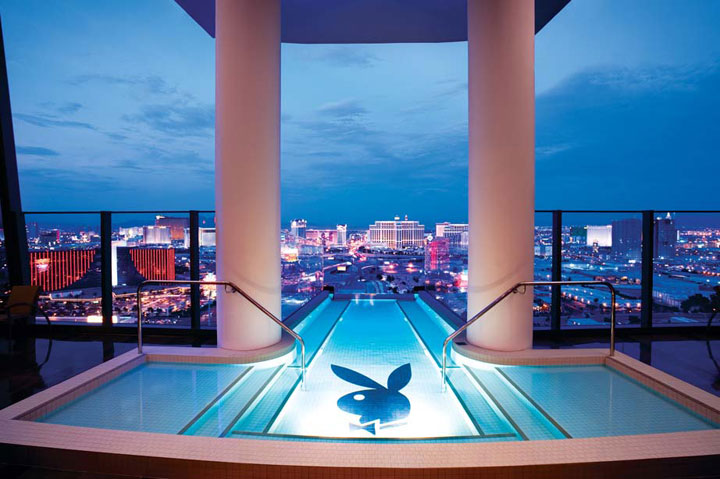 Hugh Hefner Sky Villa at the Palms Casino & Resort