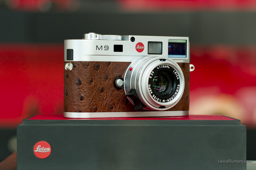 Limited Edition Leica M9 Silver Chrome