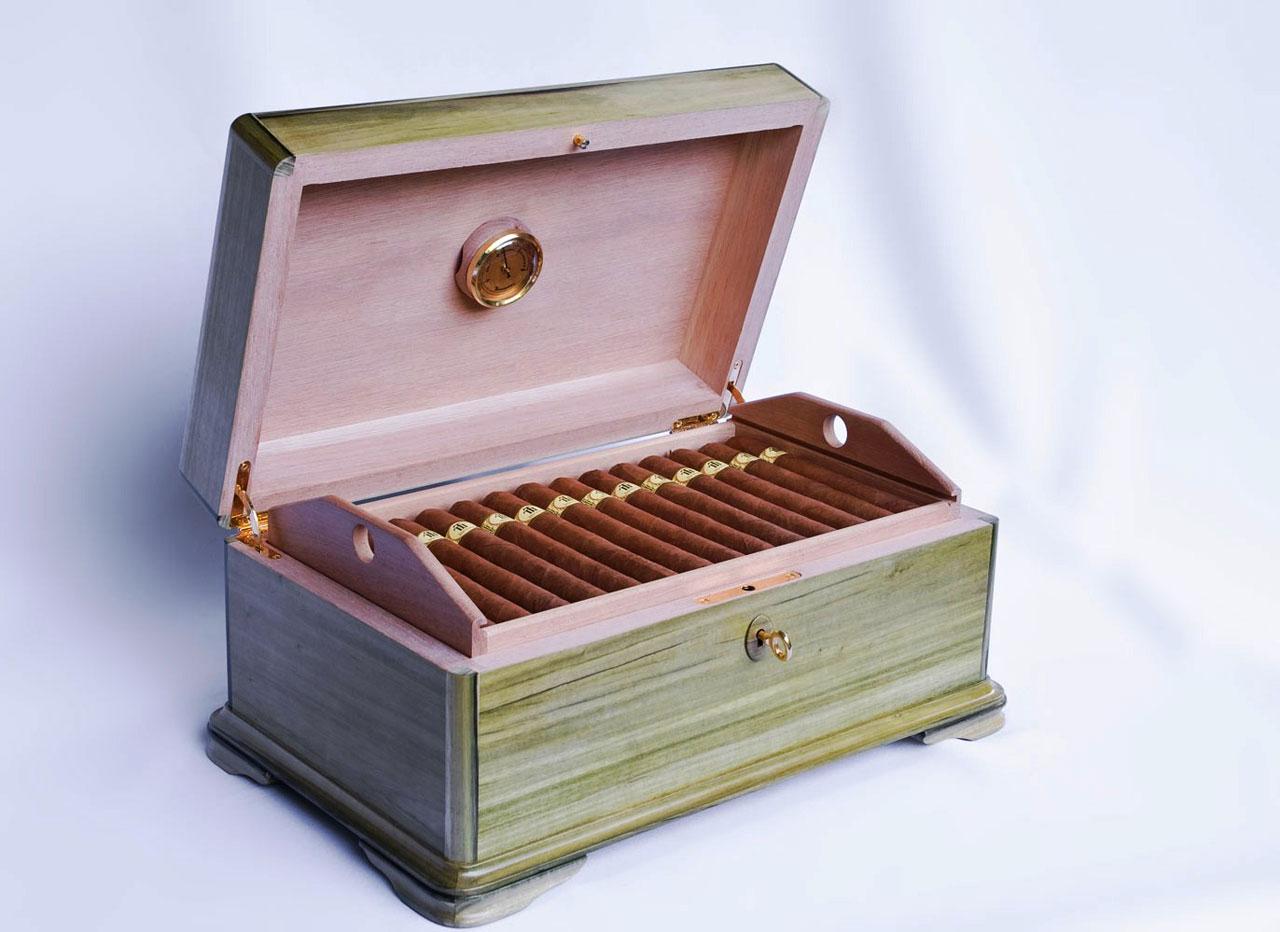 Limited Edition Trinidad 40th Anniversary Cigar Humidor