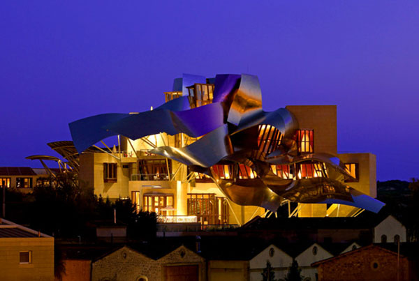 Luxury Hotel with Spectacular Views – Marques de Riscal