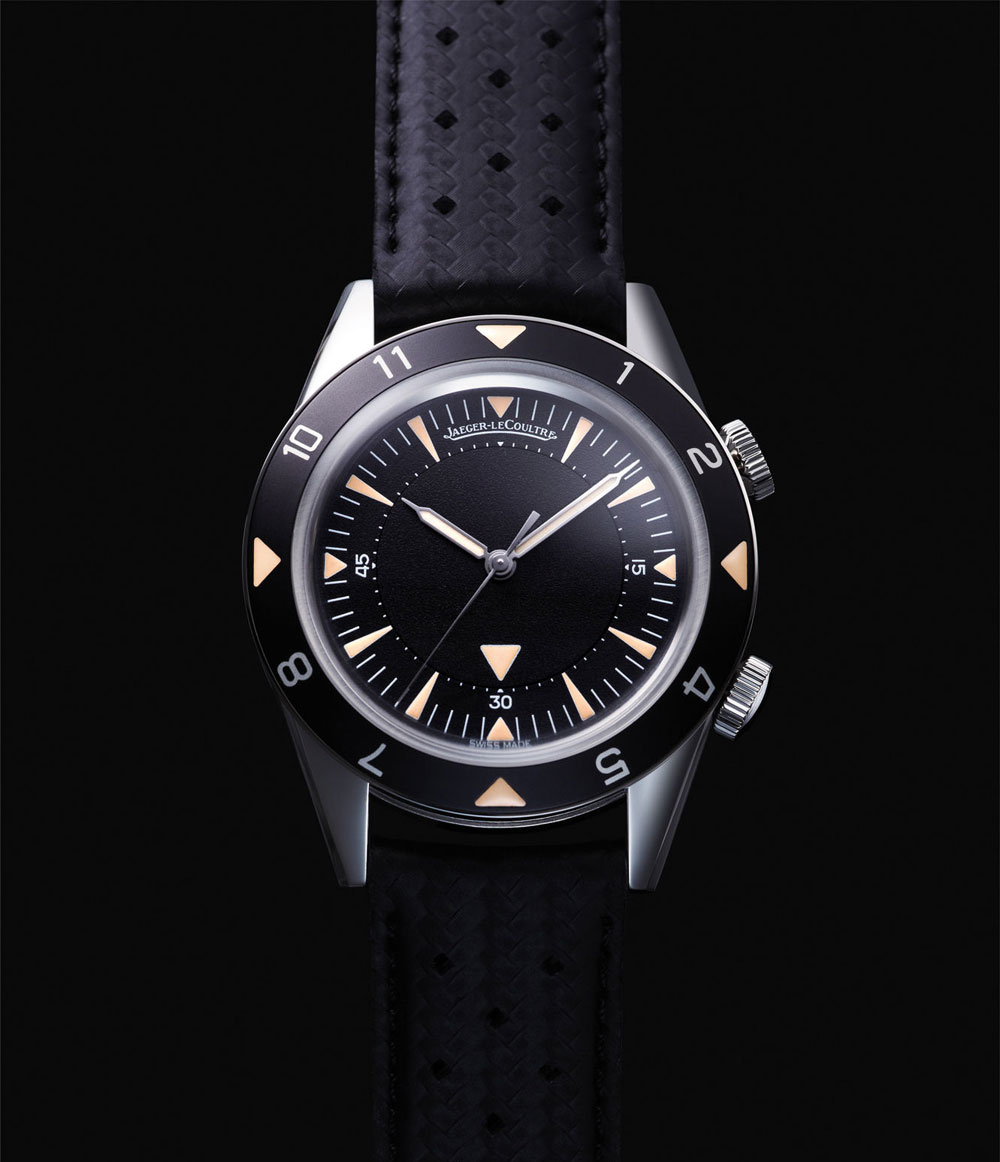 Jaeger-LeCoultre Memovox Tribute to Deep Sea Watch Europe Version