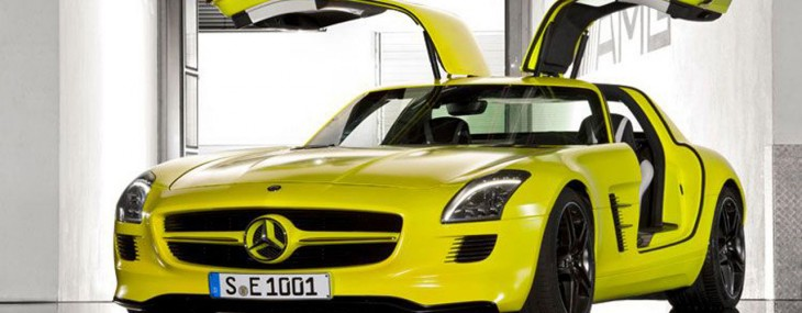 Mercedes-Benz-SLS-E-Cell