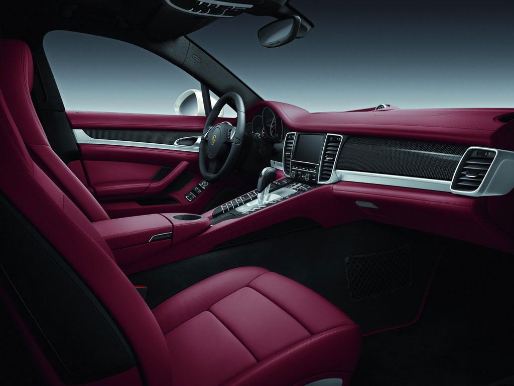 porsche panamera 4s exclusive middle east edition - Porsche Panamera White Red Interior