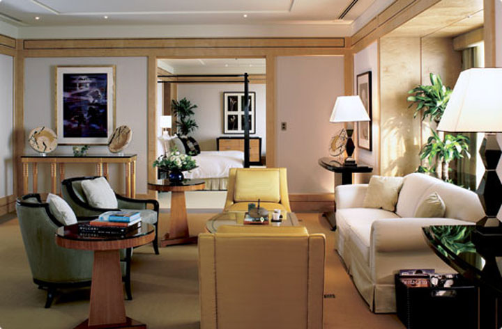 Presidential Suite at the Ritz-Carlton