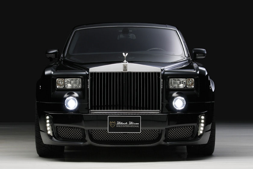 Rolls-Royce Phantom Extended Wheelbase Sports Line Black Bison Edition