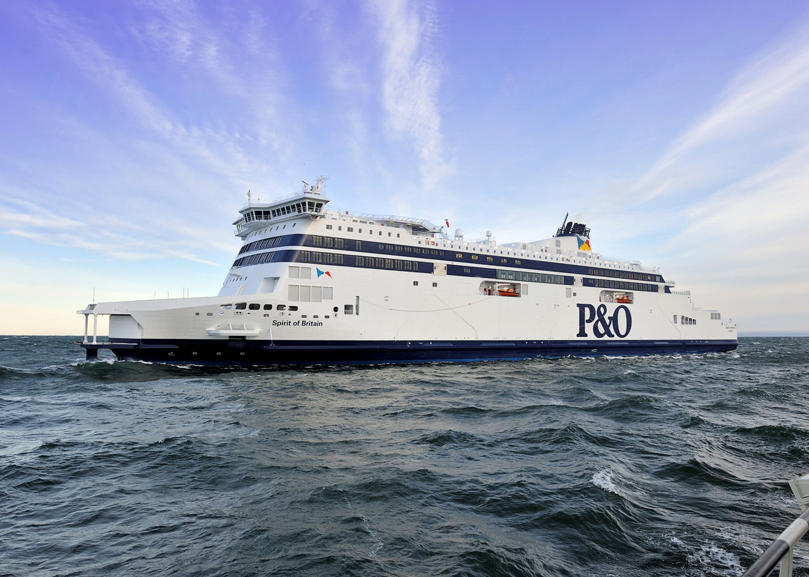 Spirit of Britain – The World's Largest Ferry Ship on Dover Strait