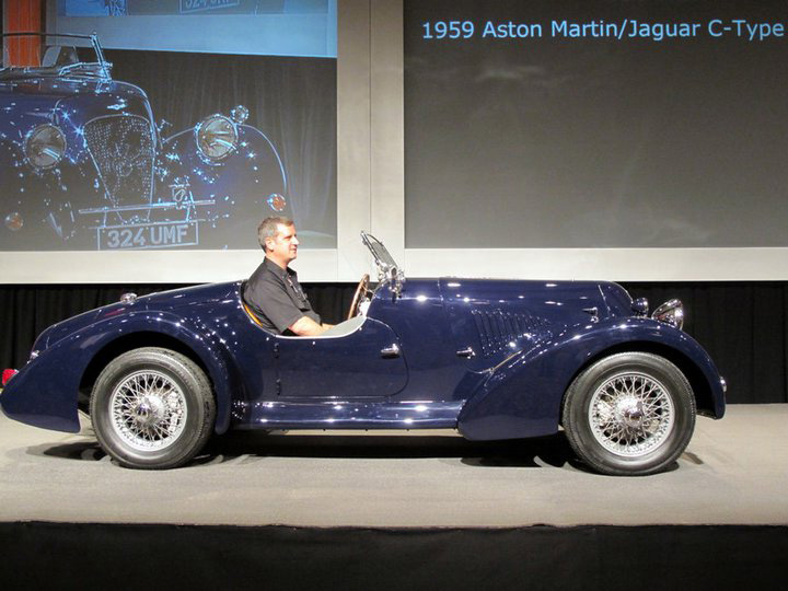 The Aston-Jaguar C Type Roadster