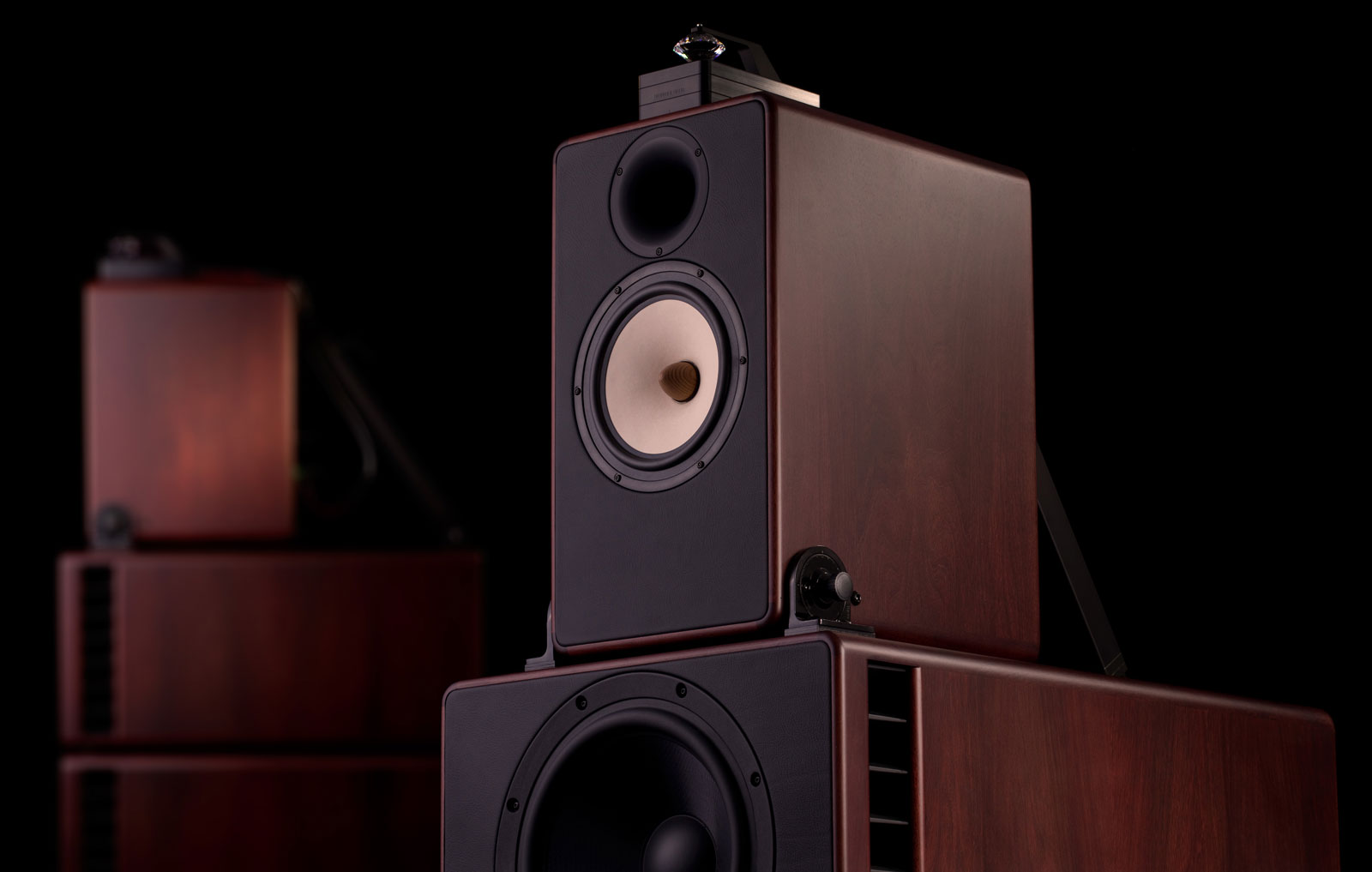 duke high end audio speaker from trenner friedl. Black Bedroom Furniture Sets. Home Design Ideas