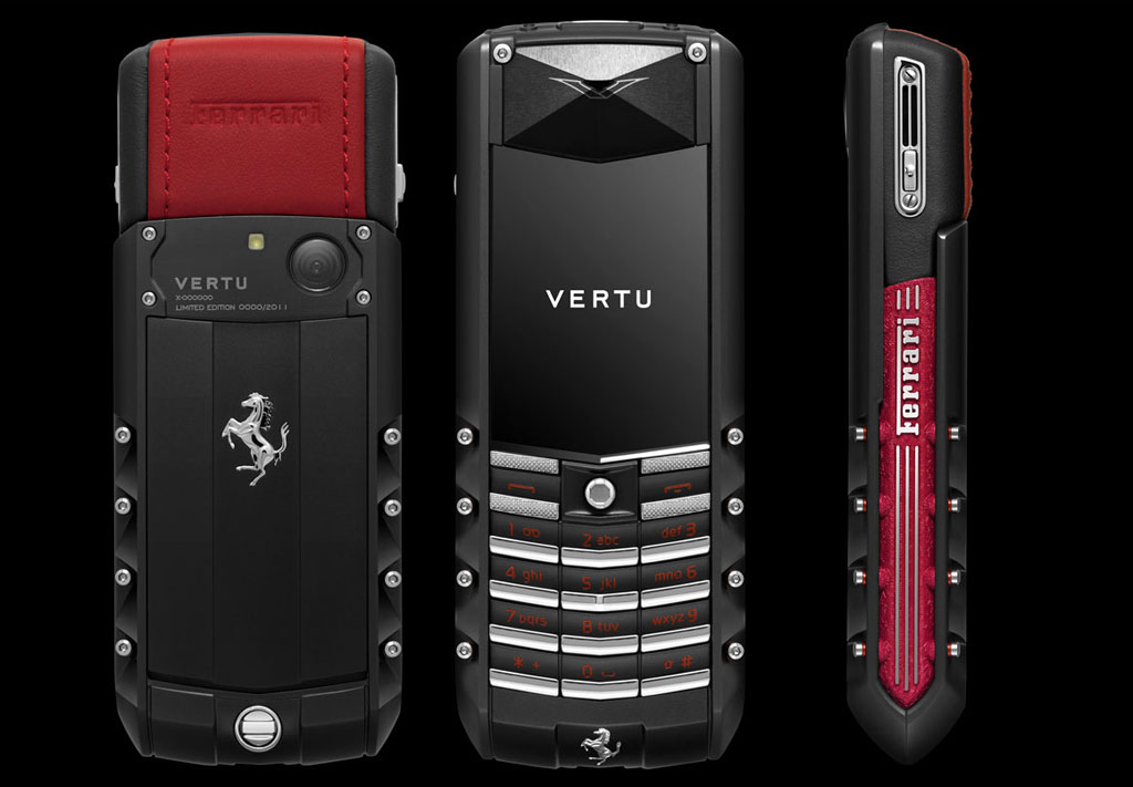 Limited Edition Vertu Ascent Ferrari GT Phone &#8211; Designed by Vertu, Inspired by Ferrari