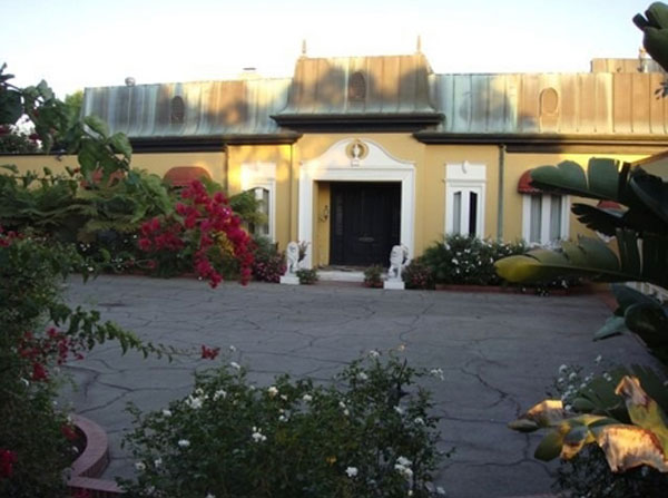 Zsa Zsa Gabor's Bel Air Mansion