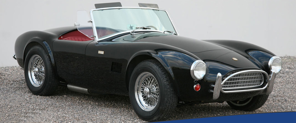 Shelby American Commemorates 50th Anniversaty of Original Street Cobra with Special Edition Car