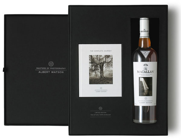 Limited Edition Macallan&#8217;s Albert Watson Whisky