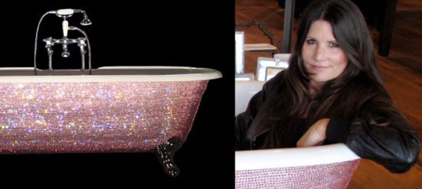 Diamond Bathtub by Lori Gardner