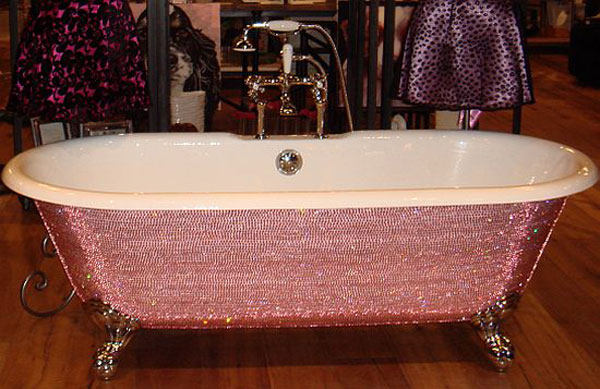 Lori Gardners $39,000 Diamond Bathtub