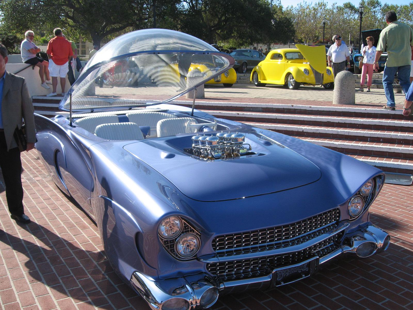 1955 Ford Beatnik Bubbletop Custom