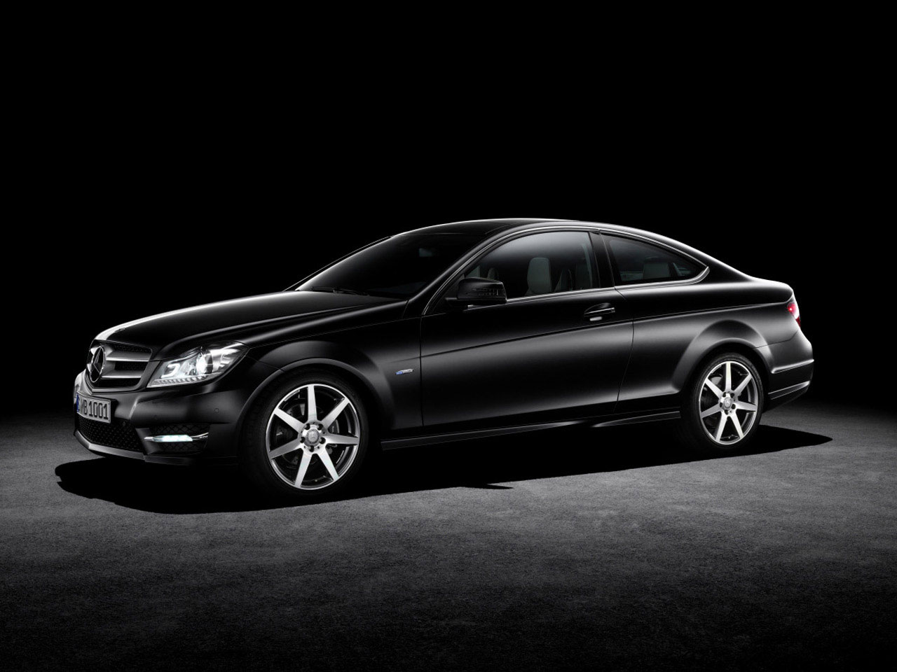 2011 mercedes c class coupe revealed. Black Bedroom Furniture Sets. Home Design Ideas