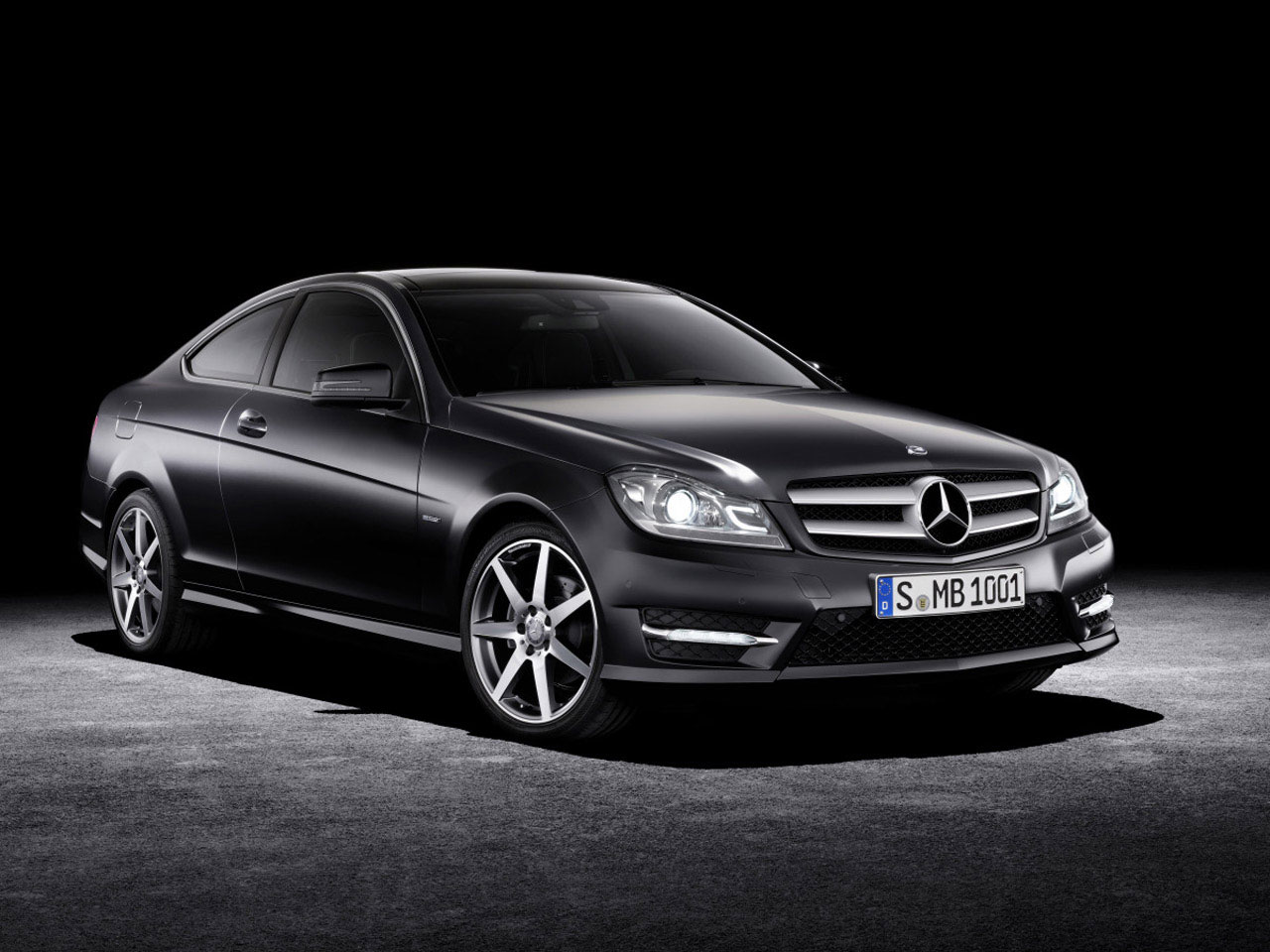 2012 mercedes benz c class coupe officially revealed. Black Bedroom Furniture Sets. Home Design Ideas