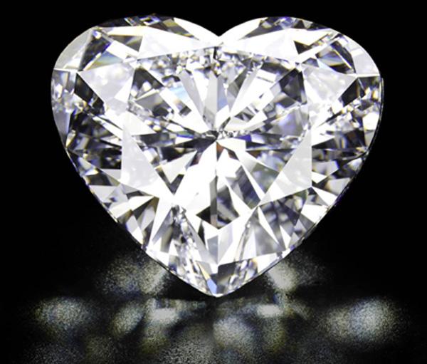 56 Carat Heart-Shaped Diamond