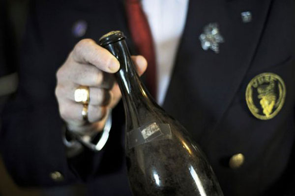Bottle of 1773 French Wine Fetches Record Price