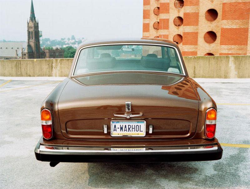 Andy Warhol's 1974 Rolls-Royce Silver Shadow