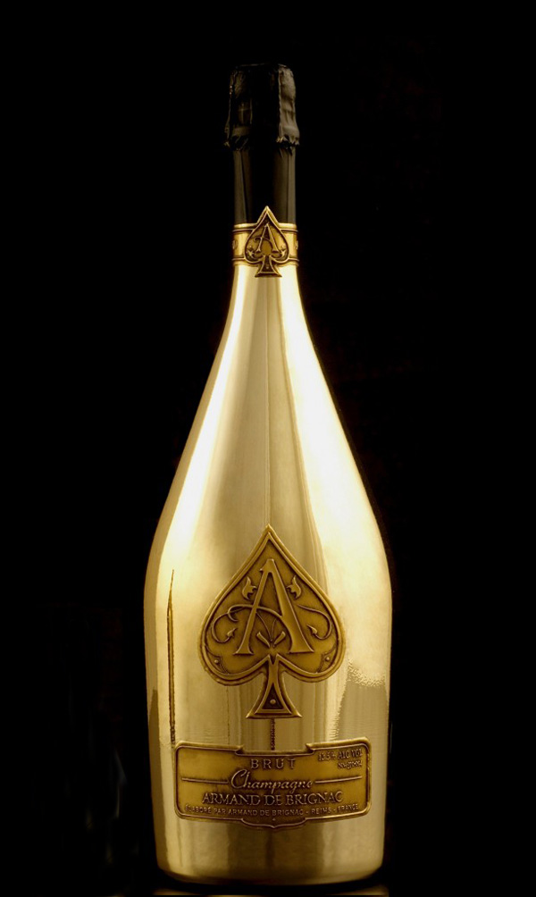 World's Largest Champagne Bottle – Armand de Brignac The Midas