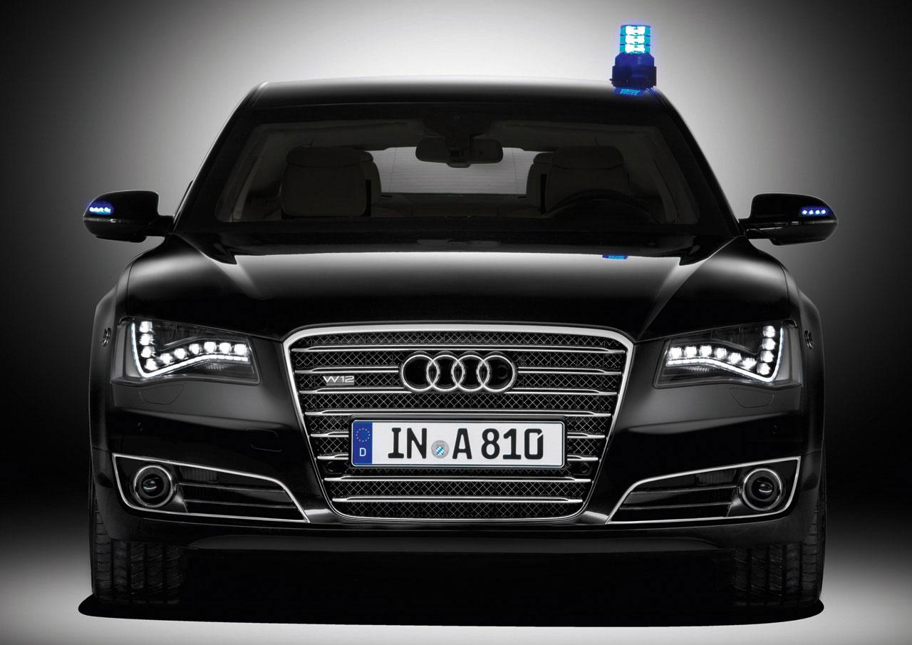 Armored Audi A8 L Security Car