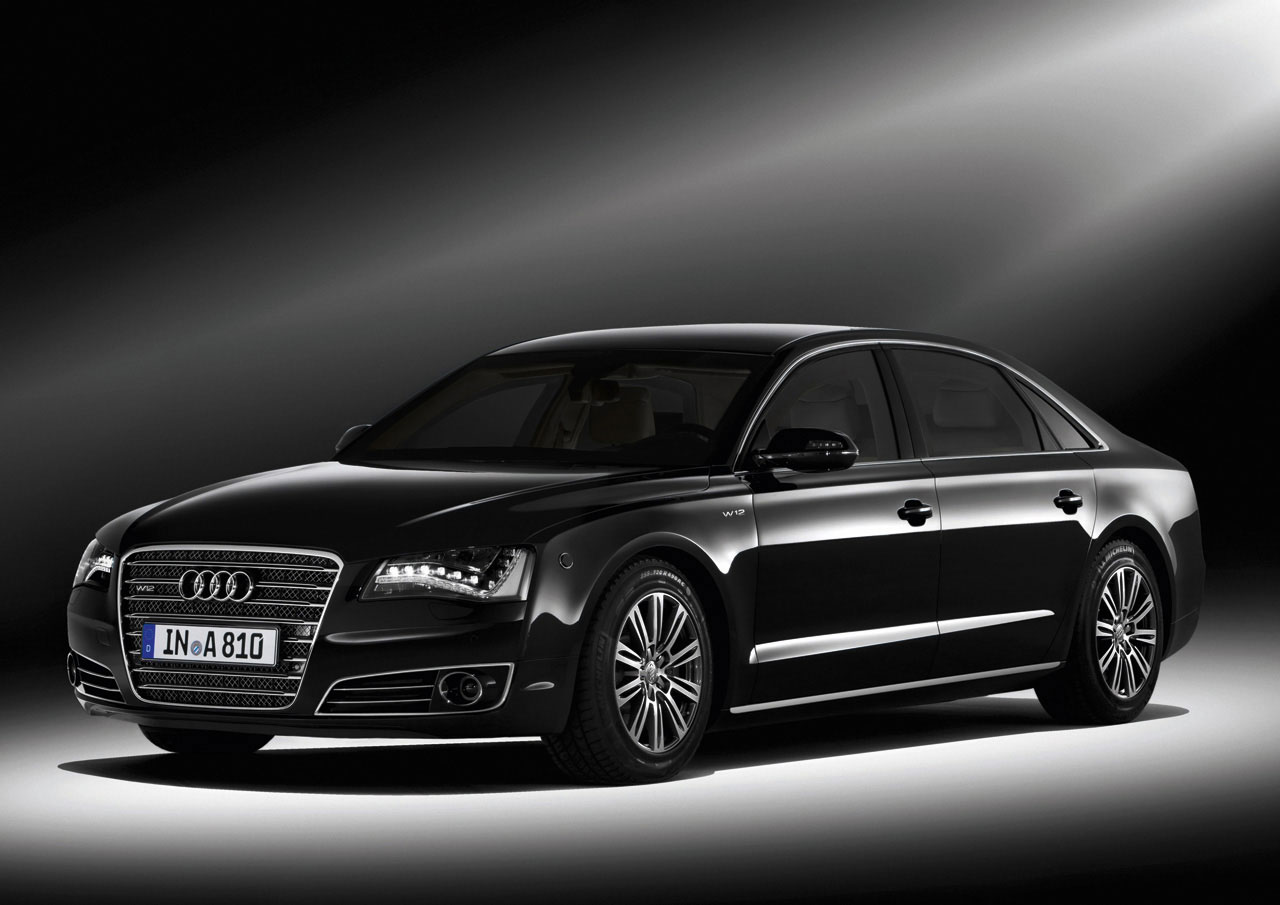 Audi A8 Best Luxury Cars: Armored Audi A8 L Security Car Combine Maximum Protection